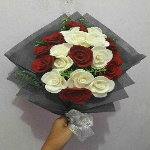 karangan bunga makassar - bunga buket