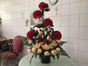 bunga meja